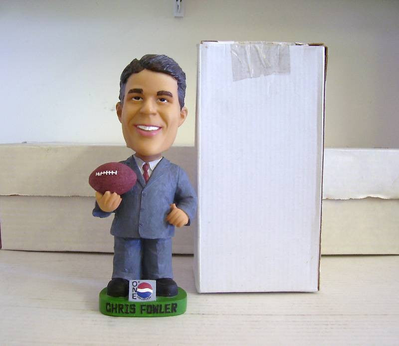Chris Fowler Bobblehead - BobblesGalore