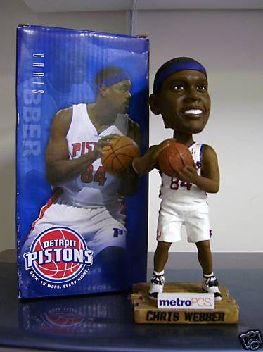 Chris Webber Bobblehead - BobblesGalore