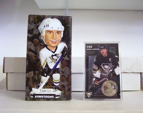 Colby Armstrong Bobblehead and Coin