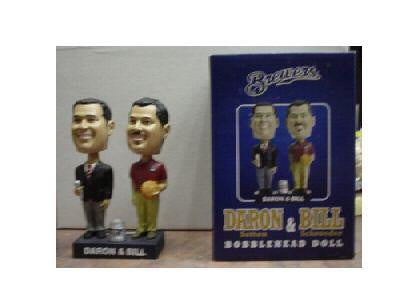 Daron and Bill Dual Bobblehead - BobblesGalore