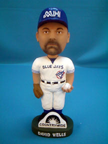 David Wells Bobblehead - BobblesGalore
