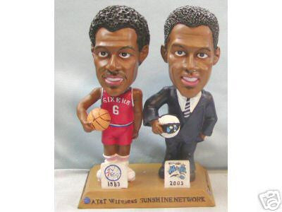 Dr. J Julius Erving Bobblehead - BobblesGalore
