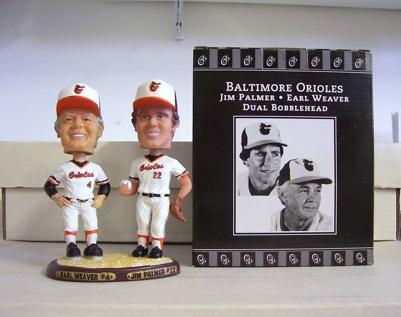 Earl Weaver and Jim Palmer Dual Bobblehead
