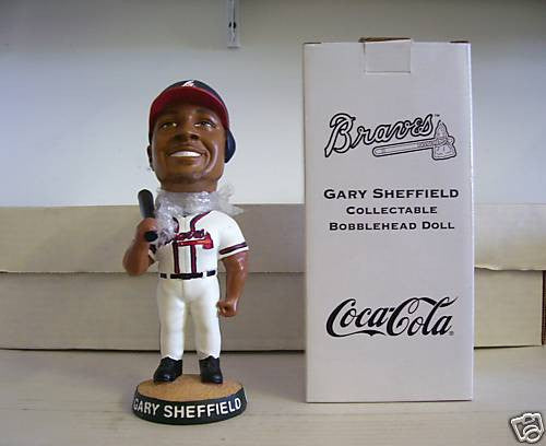Gary Sheffield Bobblehead - BobblesGalore