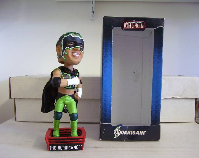 The Hurricane Luchador Bobblehead - BobblesGalore