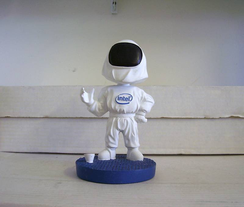 Intel Moon Man Bobblehead - BobblesGalore