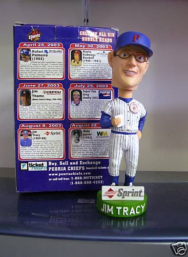 Jim Tracy Bobblehead - BobblesGalore
