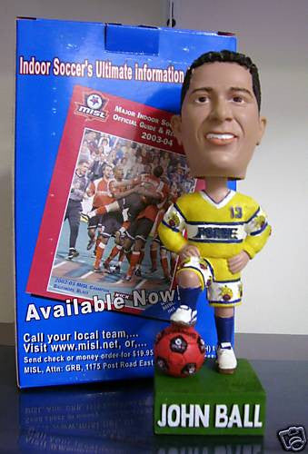 John Ball Bobblehead - BobblesGalore