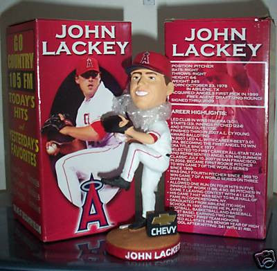 John Lackey Bobblehead - BobblesGalore