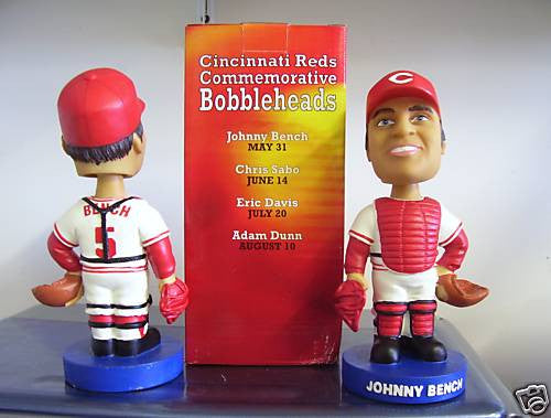 Johnny Bench Bobblehead - BobblesGalore