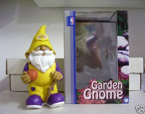 Los Angeles Lakers Garden Gnome