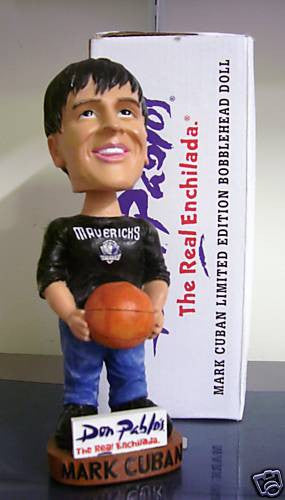 Mark Cuban Bobblehead