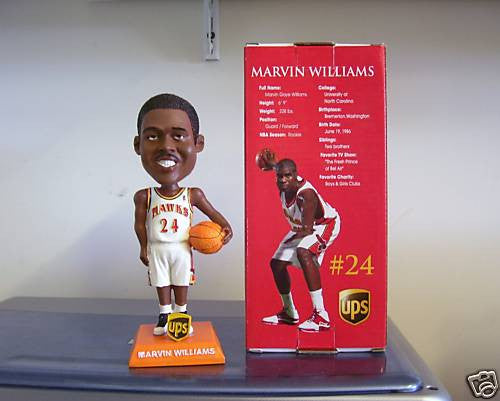 Marvin Williams Bobblehead - BobblesGalore