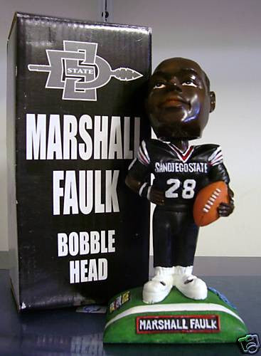 Marshall Faulk Bobblehead - BobblesGalore