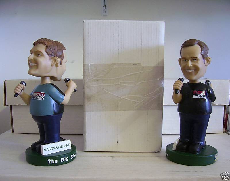 Mason and Ireland Dual Bobblehead - BobblesGalore