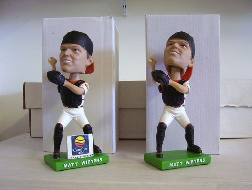 Matt Wieters Bobblehead Set - BobblesGalore