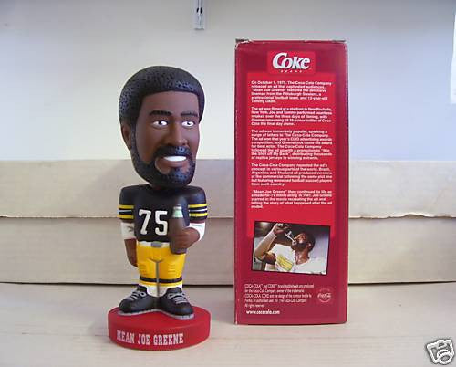 Mean Joe Greene Bobblehead - BobblesGalore