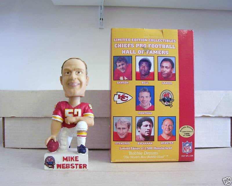 Mike Webster Bobblehead - BobblesGalore