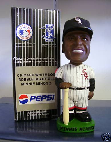 Minnie Minoso Bobblehead - BobblesGalore