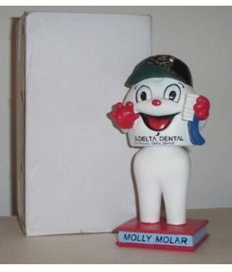 Molly Molar the Tooth Mascot Bobblehead