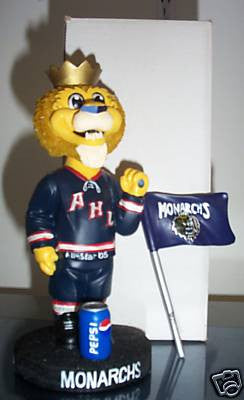 Max the Lion Mascot Bobblehead - BobblesGalore