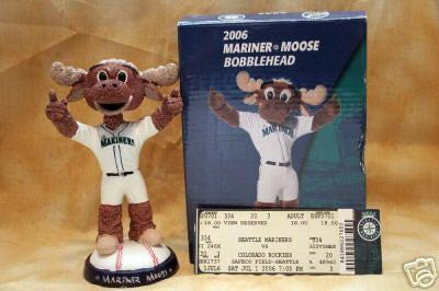 Moose the Mascot Bobblehead - BobblesGalore