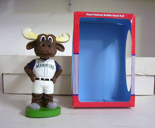 Seattle Mariners Moose Mascot Bobblehead - BobblesGalore