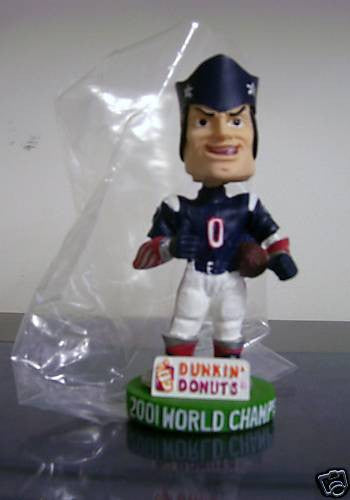 Pat the Patriot Bobblehead - BobblesGalore