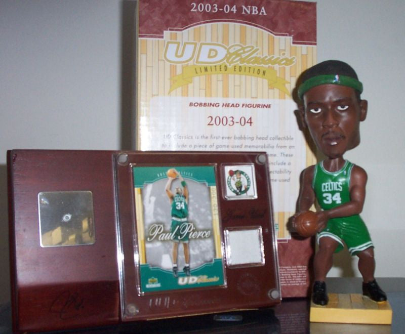 Paul Pierce Bobblehead and Jersey
