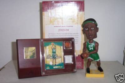 Paul Pierce Bobblehead and Jersey - BobblesGalore