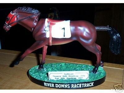 Seabiscuit River Downs Bobblehead - BobblesGalore