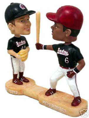 Ryan Howard and Gavin Floyd Dual Bobblehead - BobblesGalore