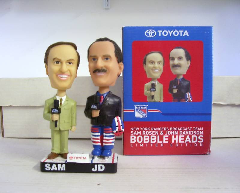 Sam Rosen and John Davidson Dual Bobblehead