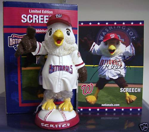 Screech the Mascot Autographed Bobblehead - BobblesGalore