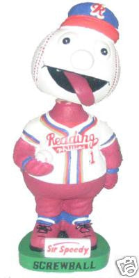 Screwball Mascot Bobblehead - BobblesGalore