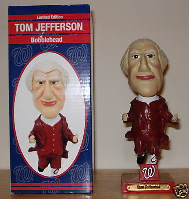 Thomas Jefferson Bobblehead - BobblesGalore