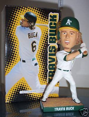 Travis Buck Bobblehead - BobblesGalore