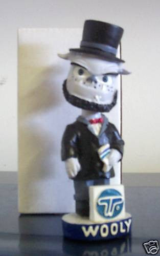 Wooly Atlantic City Boardwalk Mascot Bobblehead - BobblesGalore