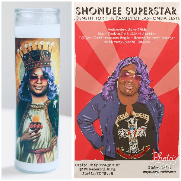 Celebrating Shondee Superstar