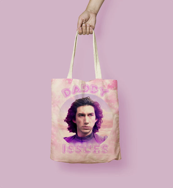 "Adam Driver ""Daddy Issues"" Tote Bag"