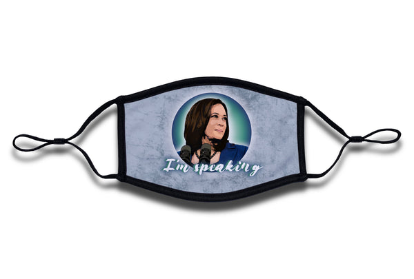 "Kamala Harris ""I'm Speaking"" Mask"