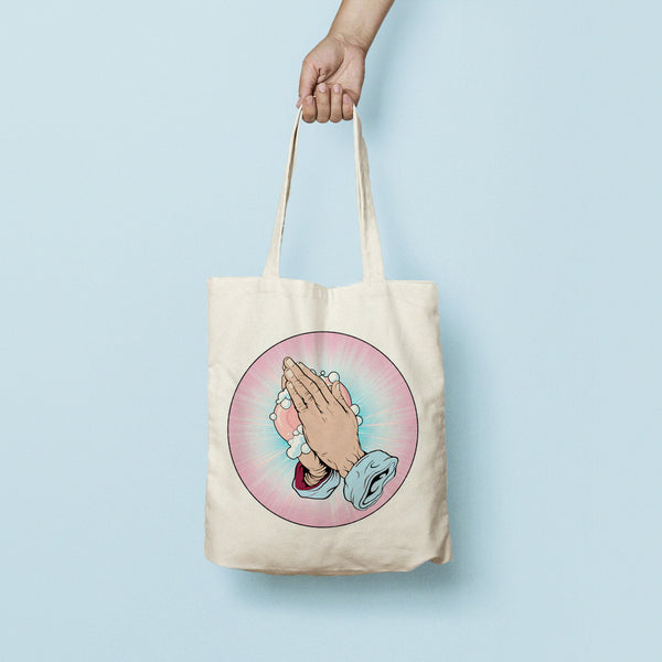 """Holy Soap"" Tote Bag"