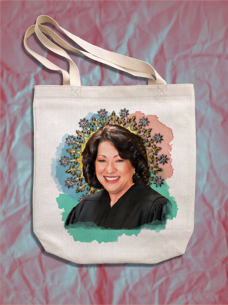 Sonya Sotomayor Tote Bag