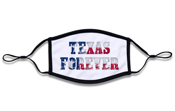 """Texas Forvever"" Mask"