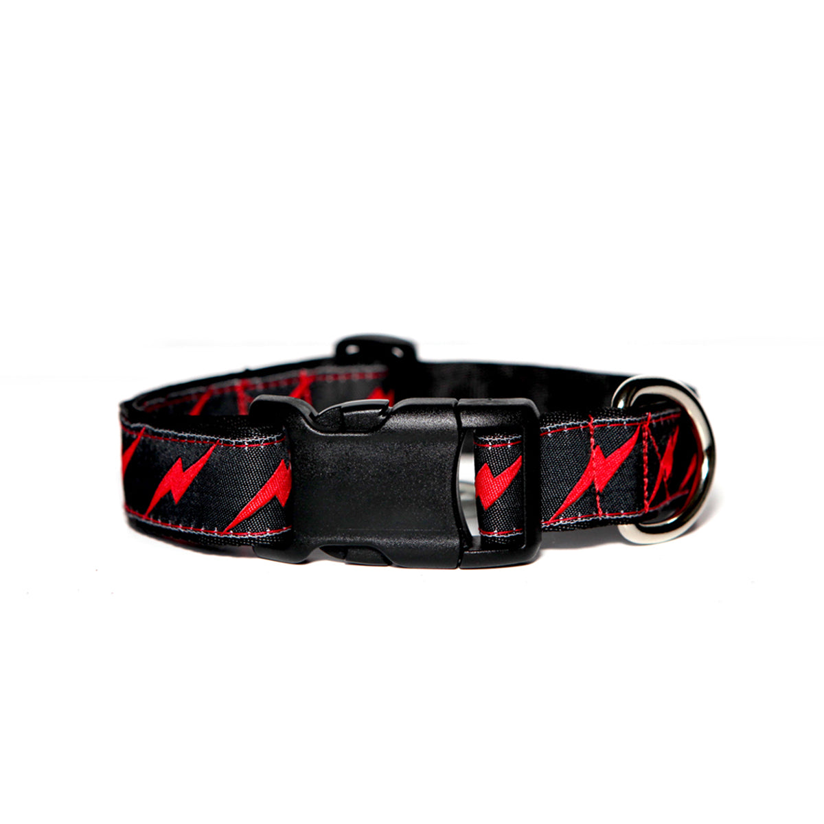 Black Bolt Dog Collar