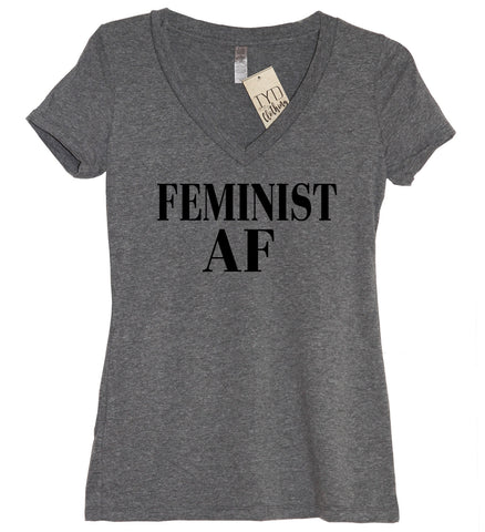 Engaged AF (As F--k) V Neck Shirt