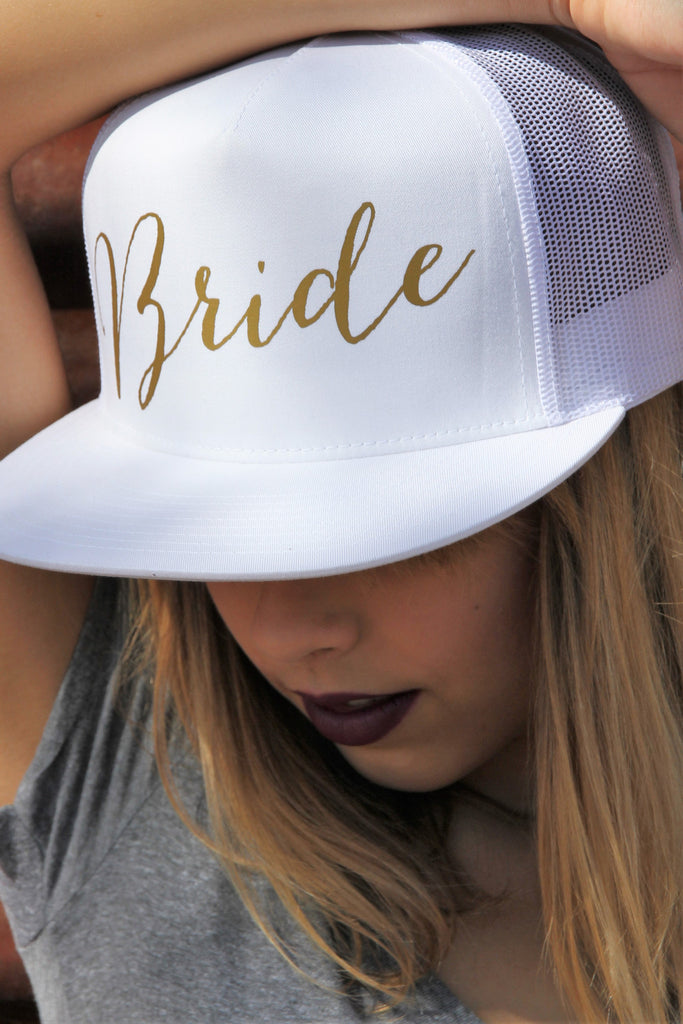 Bride Mesh Snapback Hat - It's Your Day Clothing