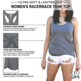 Women's Racerback Tank Top Details - It's Your Day Clothing