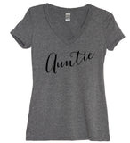 Auntie Script Shirt - It's Your Day Clothing
