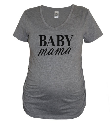 Best Gift Ever Baby Feet Maternity V Neck Shirt